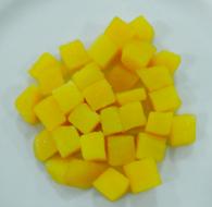 Khoai lang cắt hạt lựu tẩm đường